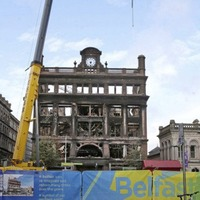 Castle Junction in Belfast city centre to open to traffic for first time since Primark fire last August