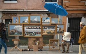 Venice In Oil: Banksy creates artwork for Biennale festival