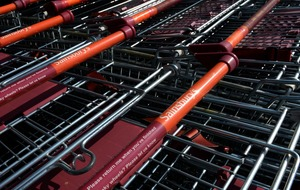 Satellite-tracked supermarket trolleys among winners of space competition