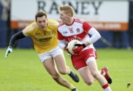 Antrim defender Niall Delargy looking forward to Tyrone test
