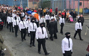 Video: Former INLA prisoner Martin McElkerney's funeral told his death 'such a tragedy'
