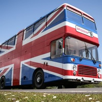 Spice Girls fan lists original Union Jack bus on Airbnb for £99 a night