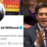 Chaos With Ed Miliband: Ex-Labour leader changes Twitter name after May exit