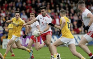 Tyrone keep on trucking past limited Antrim