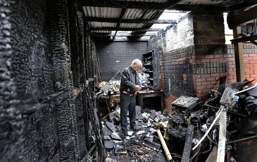 Massgoers Pray For Arsonists Who Attacked Church The Irish News