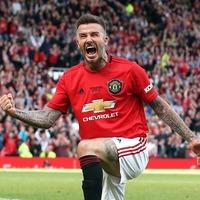 Announce Beckham: Man United fans nostalgic as Becks impresses at Old Trafford