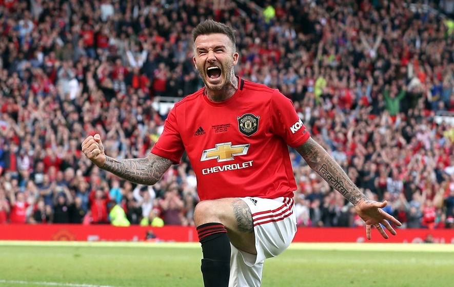 Announce Beckham: Man United Fans Nostalgic As Becks