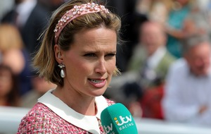 Racing presenter Cumani avoids flashy hats in case horses nibble them