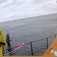 Video: Paddleboarder found safe after search by four lifeboats and Coastguard in Whitehead