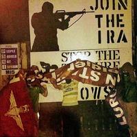 Lurgan republican 'youths' burn Soldier F banner