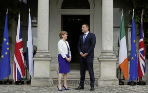 Sturgeon looks to Ireland for inspiration in call for new independence referendum