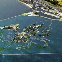 Floating dragon-shaped island proposed for Swansea