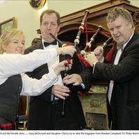 'Piper' Alastair Campbell's bizarre front page Irish News headline