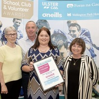 Ruairi Og, Cushendall scoop Irish Language Club Initiative of the Year award