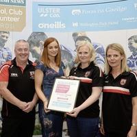 Clann na Banna win 'Best Development Initiative Award' at Irish News SCV Awards for cross-community Irish culture events in Banbridge