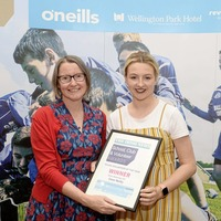 Newry Shamrocks camog Emer Reilly claims Young Volunteer Award