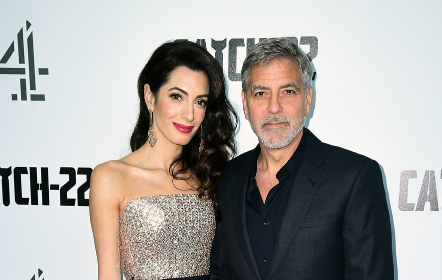 George And Amal Clooney Offer Fans The