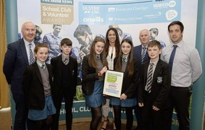 St Ciaran's College, Ballygawley, scoop top Post-Primary School of the Year Award