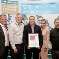 Lamh Dhearg GAC, Belfast dedicate Irish News 'Well-being' award to local community