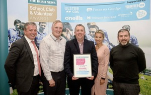 Lamh Dhearg GAC, Belfast dedicate Irish News 'Well-being' award to local community