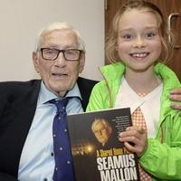 Seamus Mallon's book launched in Belfast