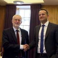 Taoiseach Leo Varadkar warns Jeremy Corbyn that only big change could reopen Brexit deal