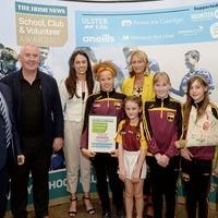 Innovative Gaelic games initiative sees Bunscoil an tSléibhe Dhuibh land top Irish News award