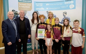 Innovative Gaelic games initiative sees Bunscoil an tSléibhe Dhuibh land top Irish News award