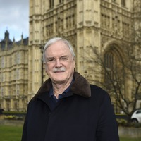 John Cleese discusses theory about projection of racism on Twitter