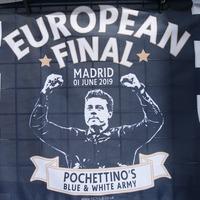 Spurs fans race to Champions League final after seven-hour flight delay