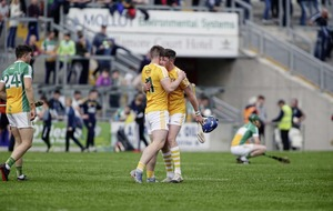 Antrim character reigns over Offaly and edges them closer to Joe McDonagh decider