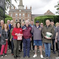 Walkers stride out to remember Famine and raise money for charity
