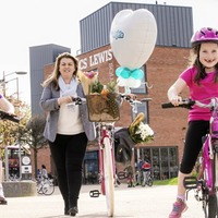 Belfast's cycling festival returns to CS Lewis Square