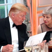 Donald Trump UK visit day two: Highlights as Theresa May welcomes US President