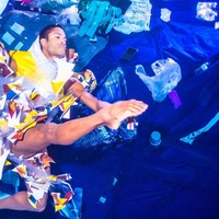 Royal Ballet soloist dances under water to highlight plastic pollution