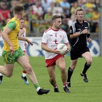Tyrone's Niall Sludden: physical power central to success