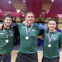Ireland Road Bowlers celebrate team win in Germany