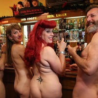 London pub hosts nude sing-along in protest against decision not to extend lease