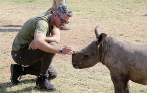 TV Quickfire: Ex-cricketer Kevin Pietersen on how we can help to Save This Rhino