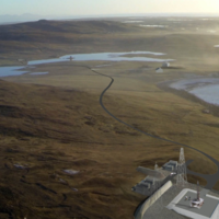 Plans unveiled for vertical launch spaceport on island