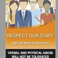 Poster campaign to highlight teacher abuse
