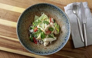 James Street Cookery School: Stir fried squid, Clams with sherry and garlic