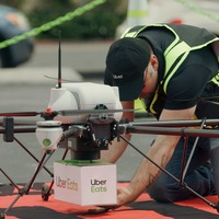 Uber Eats carries out test drone delivery with McDonald's