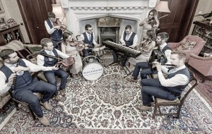 Trad/roots: The Blackwater Céilí Band look to be having as much fun as they create