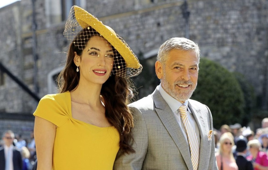 Marie Louise McConville: Finally, a date with gorgeous George .....and Amal
