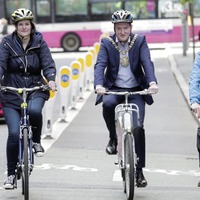 Hundreds of cyclists take part in Belfast Ride On