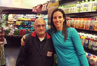 Laura Manni and Mike - a New York take on a random act of kindness