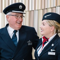 Fathers work alongside sons and daughters on special BA flight