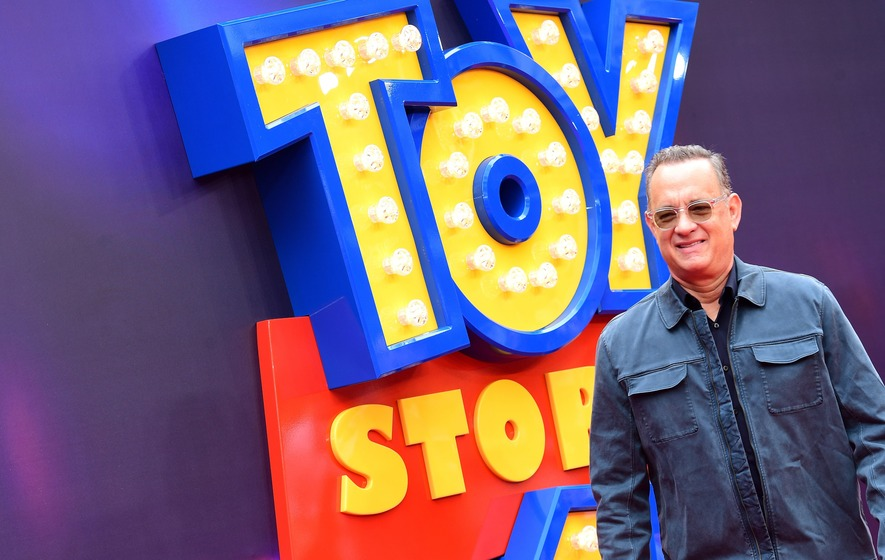 Making Toy Story 4 was lonely but sent me back in time, says Tom Hanks
