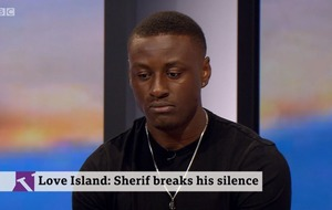 Sherif accuses Love Island bosses of 'unconscious bias' over gender and race